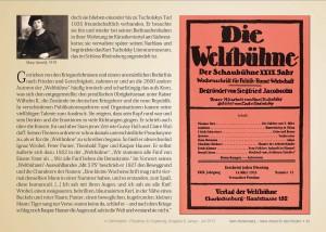 "Tucholsky Berlin Friedenau Ossietzky ""Karin Mühlenberg"" Berlindabei"